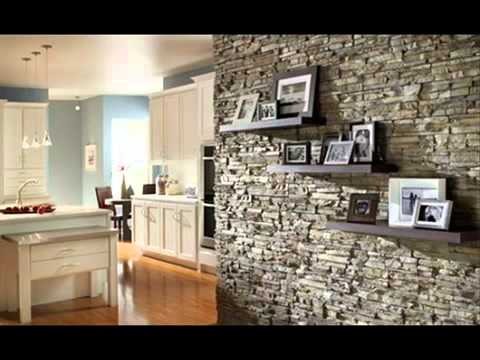 Ideas creativas para decorar la pared de la Sala. - YouTube