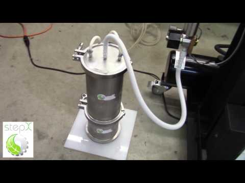 CO2 Supercritical Extraction of Lavender Oil Instructions - http://www.StepExtraction.com