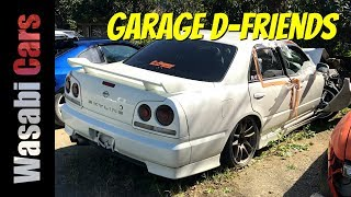Garage D-Friends: Initial D Era - AE86, S13, S14, S15, R33, R34, etc...