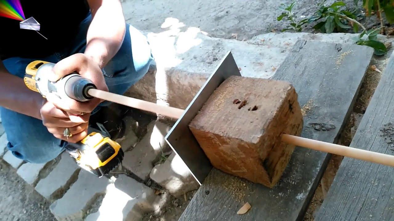 ok nasıl yapılır -  Basit ok şaftı yapımı