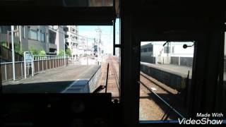名鉄瀬戸線 小幡ー大森・金城学院前上り仮線切替前 前面展望