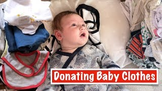 DONATING Brand New Baby Clothes | Australian Family Vlog