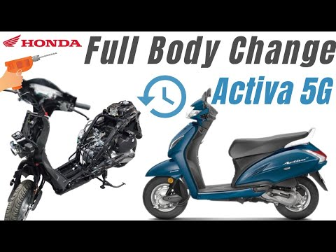 Activa 5g Body Change Activa 5g Parts Change Activa5g