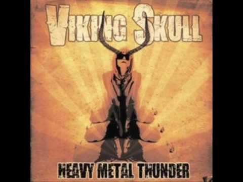 Viking Skull - Heavy Metal Thunder