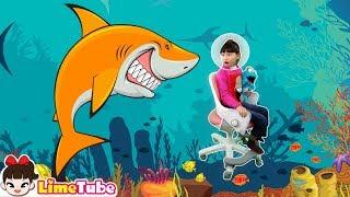 마법의자! 시디즈 링고 의자로 우주 여행 바다 탐험 떠나요! 핑크퐁 상어송 인기동요Baby Shark Dance | Baby Shark Song |Nursery Rhymes
