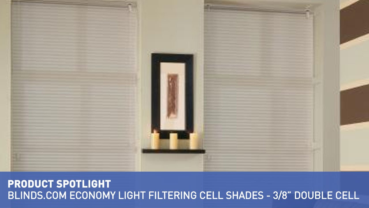 Blinds Spotlight Cellular Shades Blinds Economy Light Filtering Cellular Shades Product Spotlight