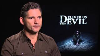 Eric Bana on watching terrifying real exorcism tape for 'Deliver Us From Evil'