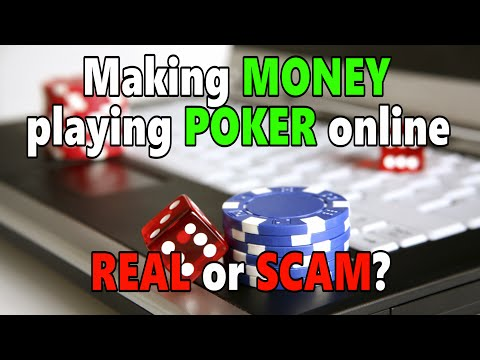 [Poker] Making money playing poker online