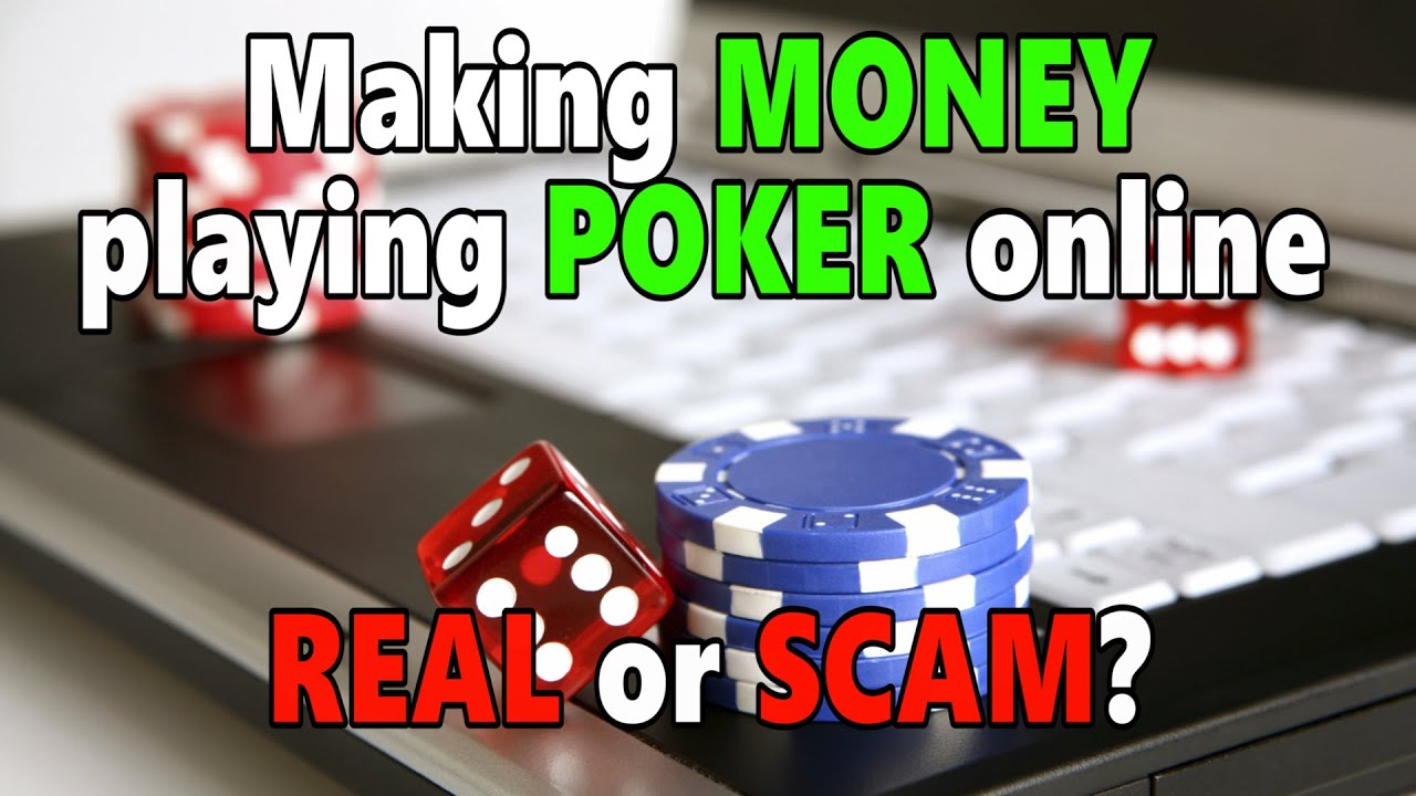 Can you actually make money playing online poker slot machine free games bonus