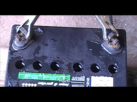 acid lead battery recovery 3of3