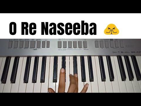 O Re Naseeba | Monali Thakur | Easy Piano Tutorial