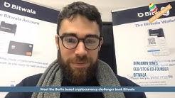 Meet the Berlin based cryptocurrency challenger bank Bitwala