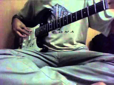Akhilandeshwari on guitar
