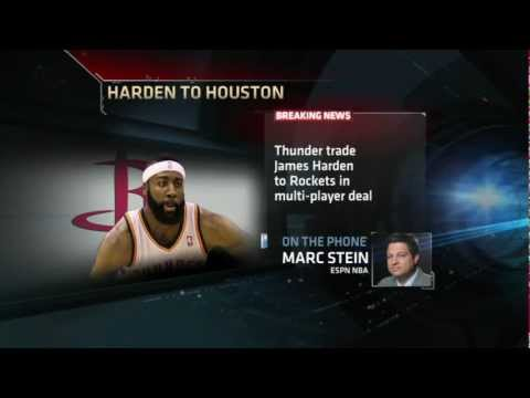 James Harden Traded To Houston Rockets