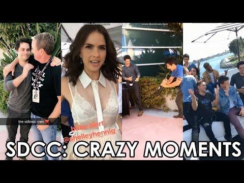 Teen Wolf Cast SanDiegoComicCon pt.1 | Dylan O'Brien, Tyler Posey, Shelley Hennig, Dylan Sprayberry