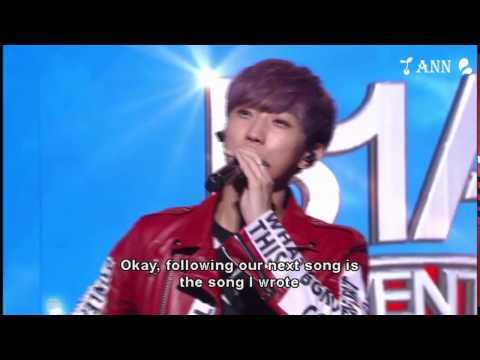 Wait +사랑 그땐 @ B1A4 Adventure Concert DVD