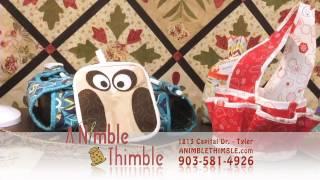 How to Customize with the Bias Binder | A Nimble Thimble | Tyler TX