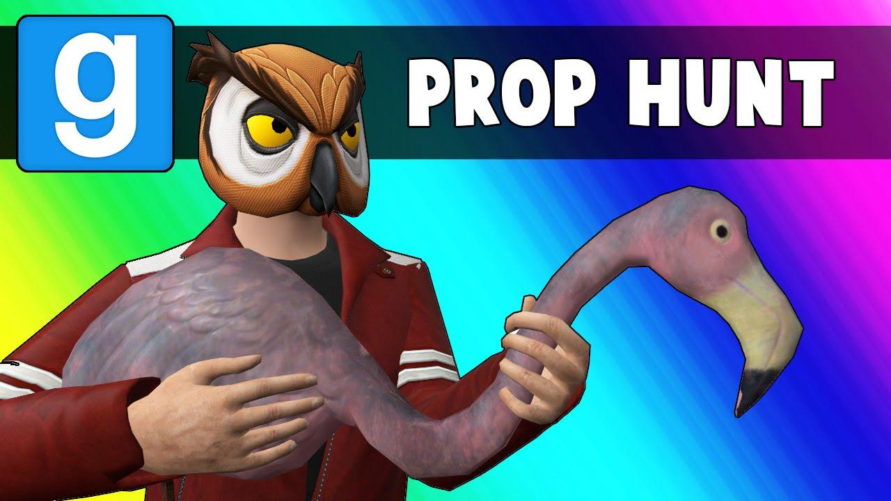 لعبة gmod prop hunt