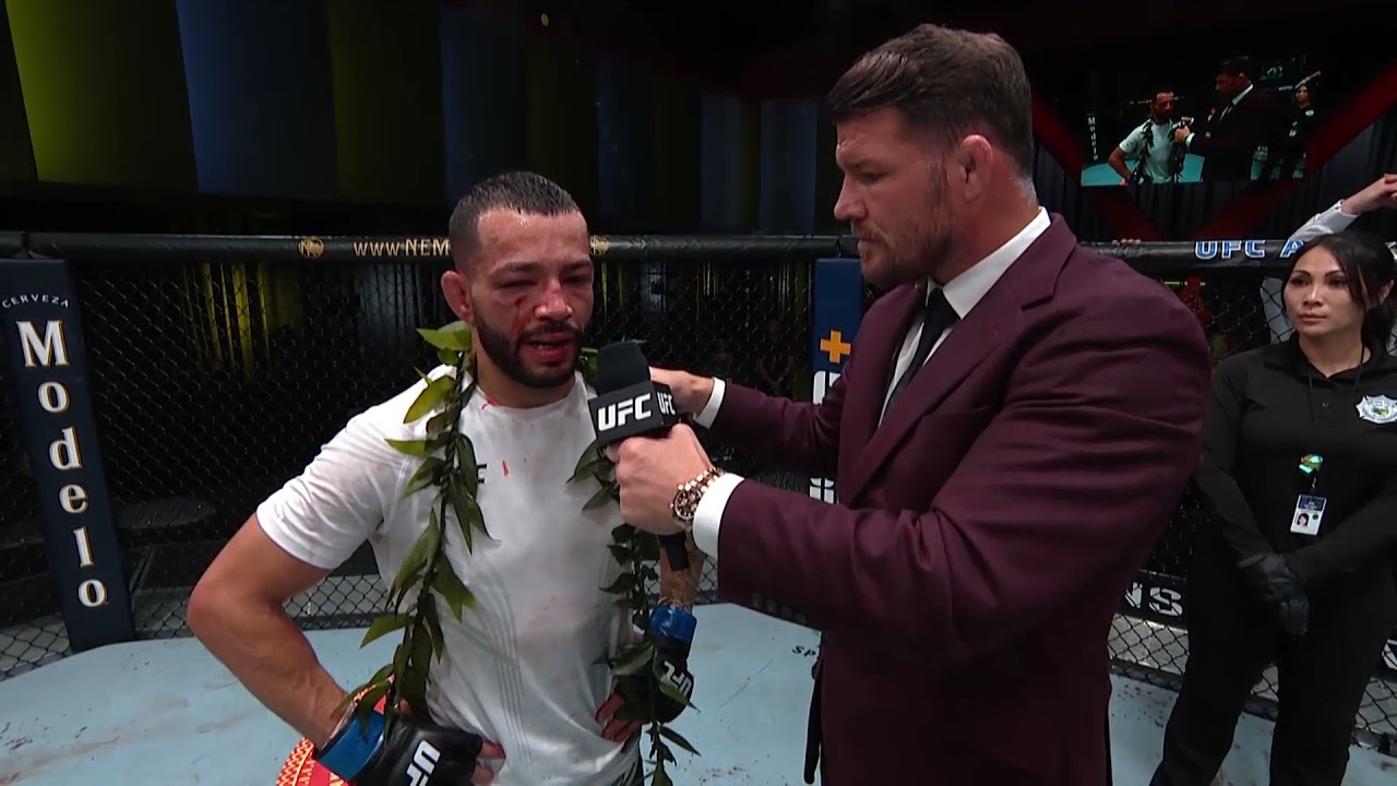 UFC Vegas 29: Dan Ige Octagon Interview