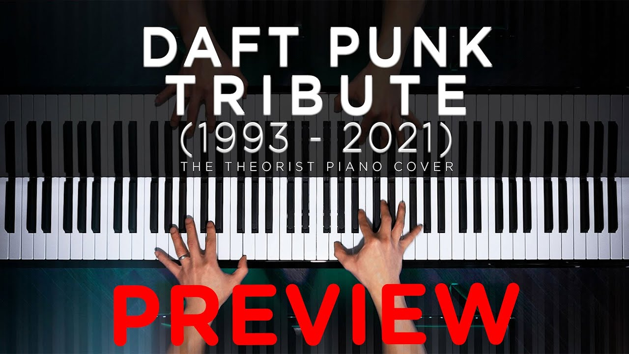Daft Punk Piano Tribute (Preview) #Shorts