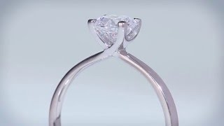 LUSSO - Round Diamond Engagement Ring (RB-H649)