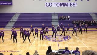 Minnesota State University Mankato Dance Team Hip Hop 2013