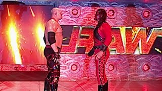 """Kane"" sends Kane off the entrance ramp: Raw, June 12, 2006"