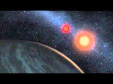 Kepler-16b quay quanh 2 mặt trời