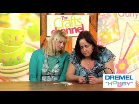HOW TO MAKE SHELL JEWELLERY WITH DREMEL 300 SERIES MULTI-TOOL
