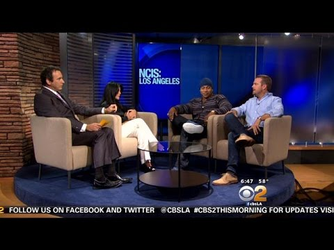 'NCIS: Los Angeles' Stars LL Cool J, Chris O'Donnell Stop By CBS2 This Morning