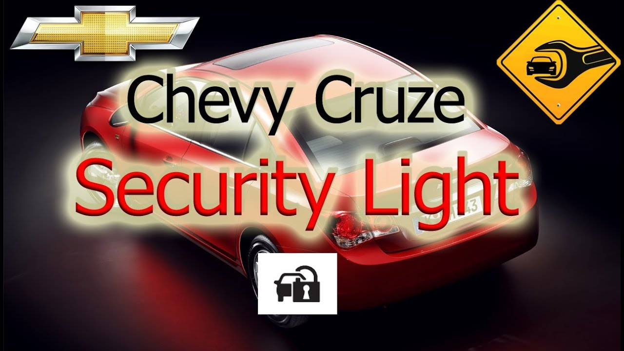 how to reset service theft deterrent system chevy cruze