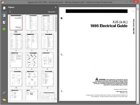 jaguar xjs 4 0l 1995 - electrical guide - wiring diagrams