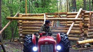 Backwoods Engineering Log Hoist Log Cabin Update Ep 11 13