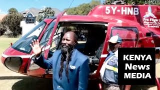 Uhuru Kenyatta ORDERS a Helicopter Chopper to Airlift Prophet David Owuor!!!