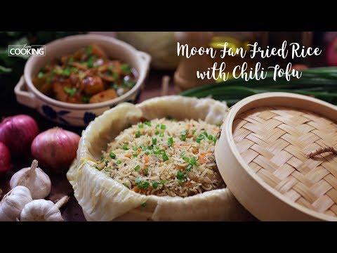 Moon Fan Fried Rice And Chili Tofu Gravy | Fried Rice Recipe
