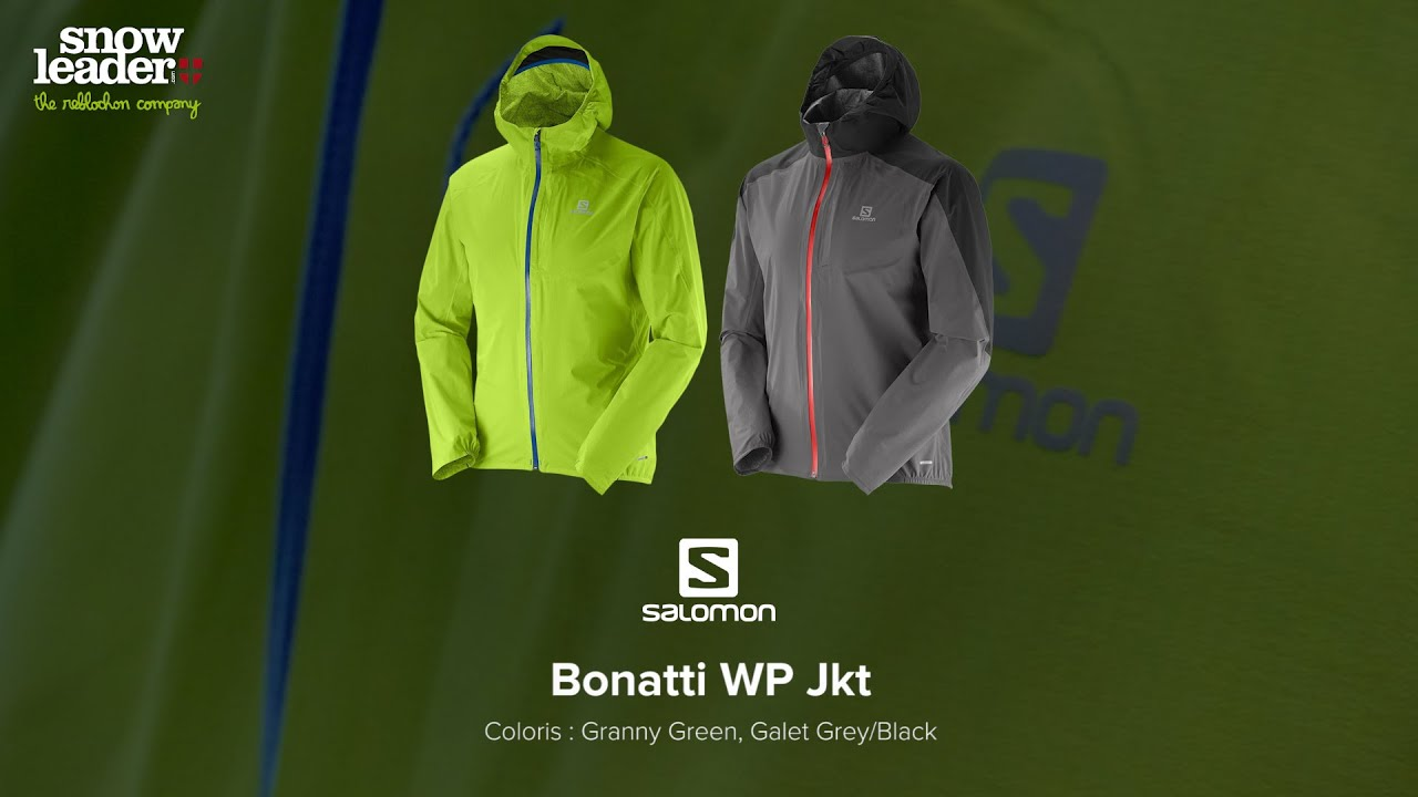 Salomon : Bonatti WP Jkt Veste trail running