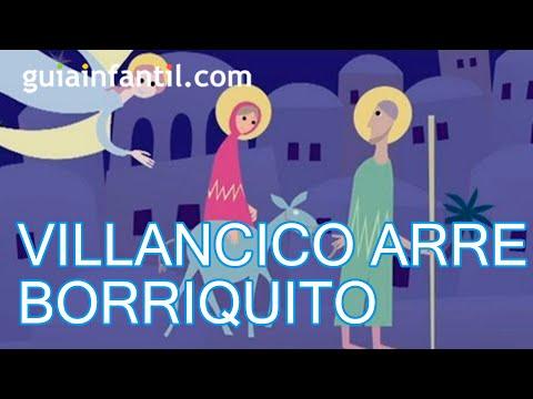 Arre Borriquito Villancico Canci 243 N De Navidad Youtube