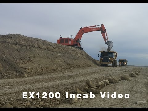 29 minutes of Mass Excavation | Hitachi 1200