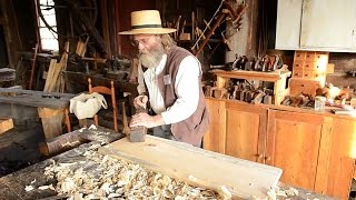 Hancock Shaker Woodworking Shop Tour