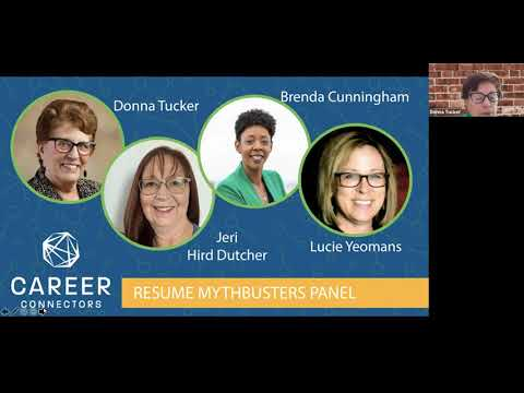 Resume Mythbusters: Certified Resume Writer Panel