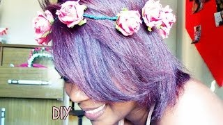 DIY: Tiara de flores