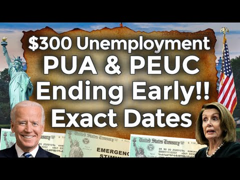 When Will It End!? UNEMPLOYMENT BENEFITS EXTENSION UPDATE PUA PEUC FPUC EDD BOOST EARLY 18 STATES