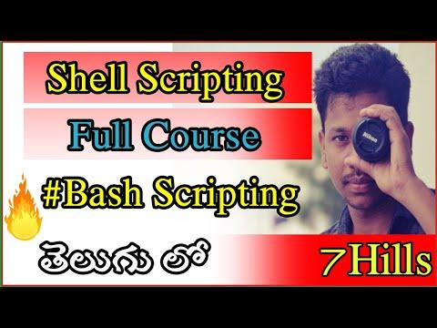 Shell Scripting full
