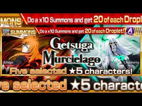 Bleach Brave Souls: Summons Getsuga X Murcielago 20X Conta Secundária!!! VAI QUE DÁ!!! - Omega Play