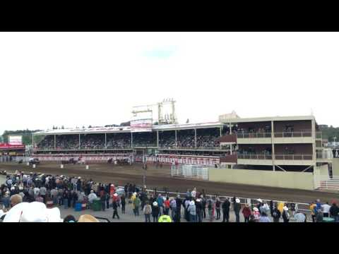 Racing Accident (Calgary Stampede 20160710)