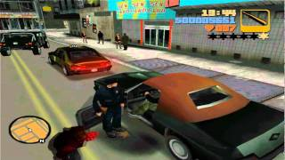 GTA 3 - w/ Saulman - 'terrible driving' - #1