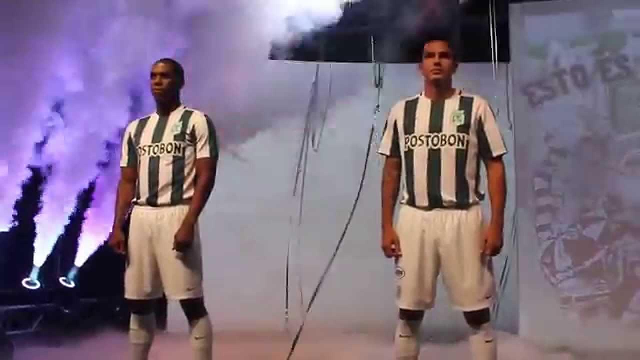 Nuevo uniforme de Atlético Nacional para la temporada 2015 - YouTube cbfad7c81521b