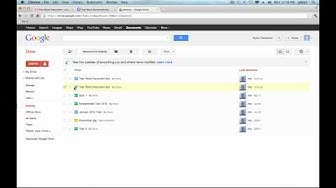 How to Open a Word Document in Google Docs Tutorial