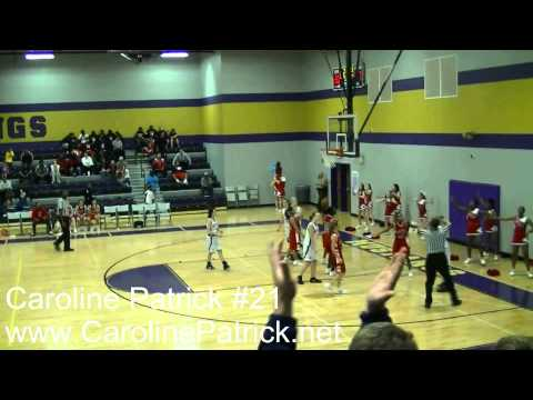 Spring Station Middle School vs Freedom Middle School 2011 - Caroline Patrick Scores 17 Points