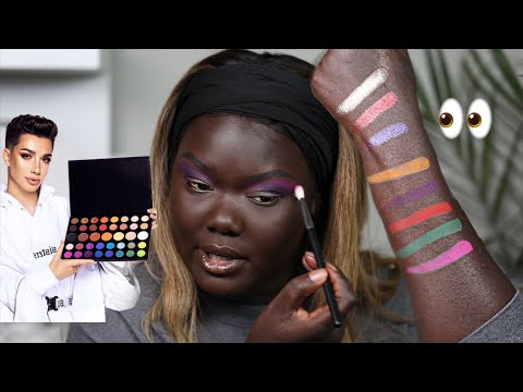 JAMES CHARLES X MORPHE PALETTE REVIEW || Nyma Tang